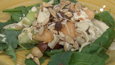 Curried Chicken and Melon Salad