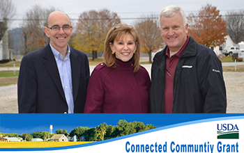 $2.8 Million USDA Broadband Community Connect Grant