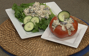 Creamy Cucumber and Chicken Salad