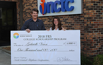 FRS Scholarship Winner