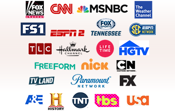 Advertise Locally on Top Rated national Cable Networks